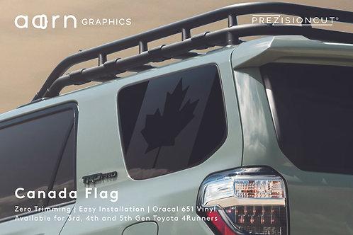 Canada Flag PrezisionCut® Toyota 4Runner Vinyl Window Decal
