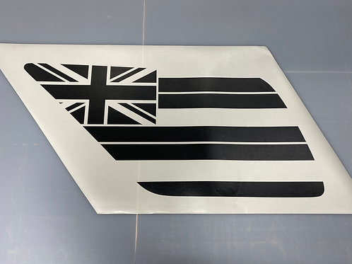 Hawaiian Flag PrezisionCut® Vinyl Window Decal