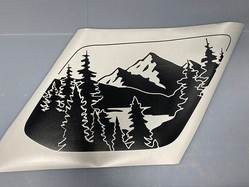 Mirror Lake PrezisionCut® Vinyl Window Decal