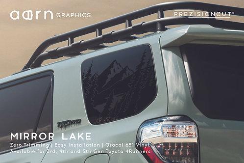 Mirror Lake PrezisionCut® Toyota 4Runner Vinyl Window Decal