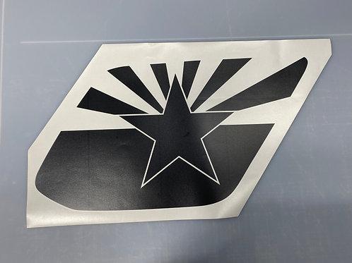 Arizona Flag PrezisionCut® Vinyl Window Decal