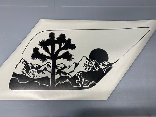 Joshua Tree PrezisionCut® Vinyl Window Decal