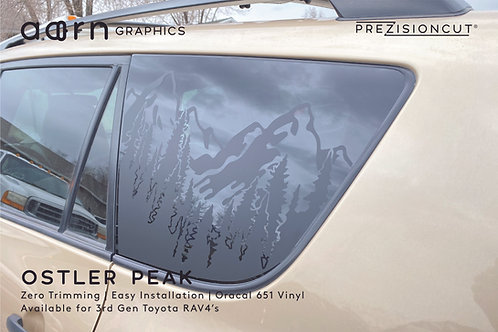 Ostler Peak PrezisionCut® Toyota RAV4 Vinyl Window Decal