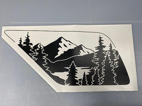 Mirror Lake PrezisionCut® Vinyl Window Decal