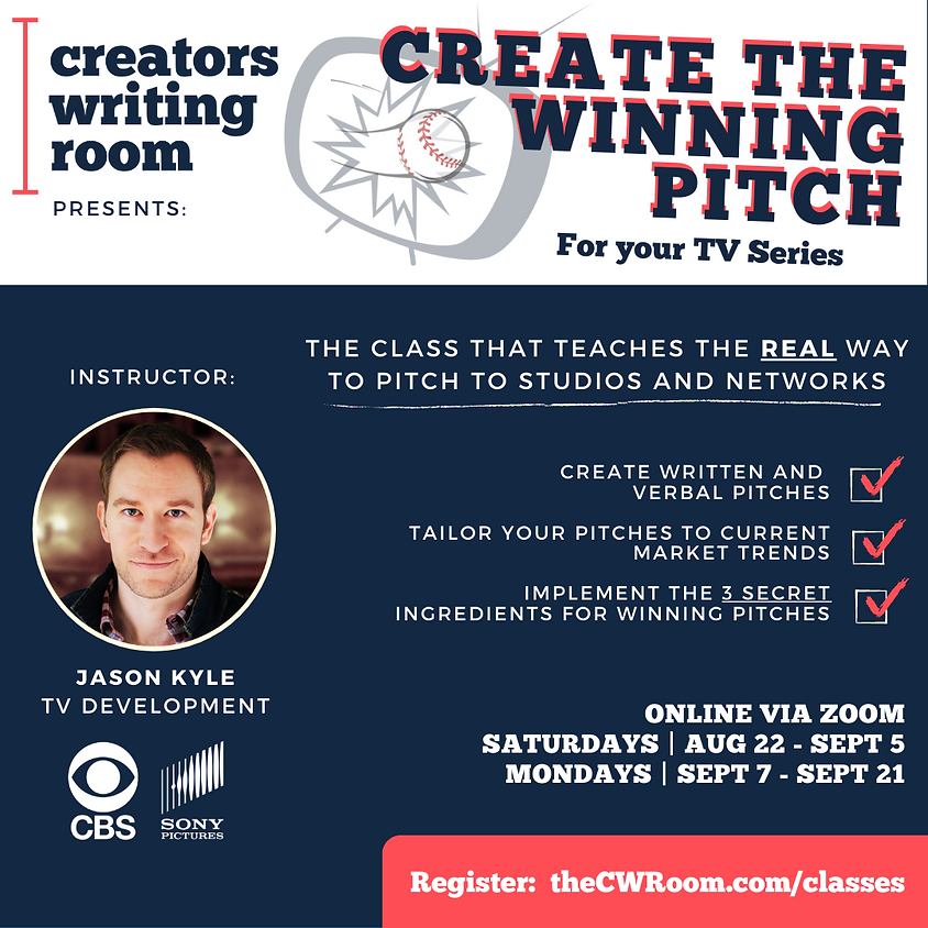 Create the Winning Pitch for your TV Series
