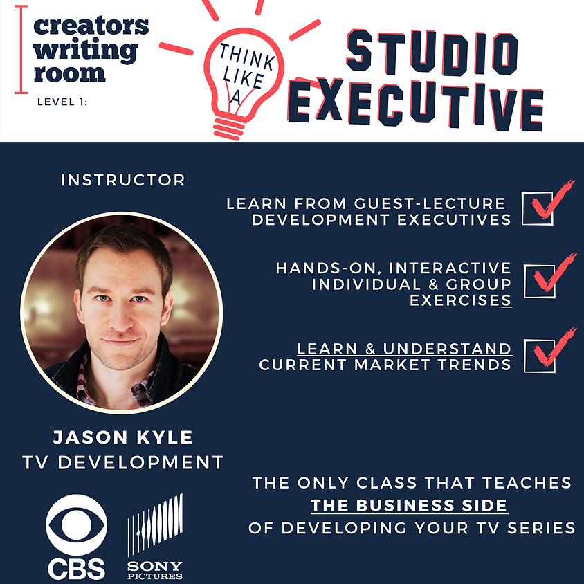 Pitch Like a Studio Executive - March 2021