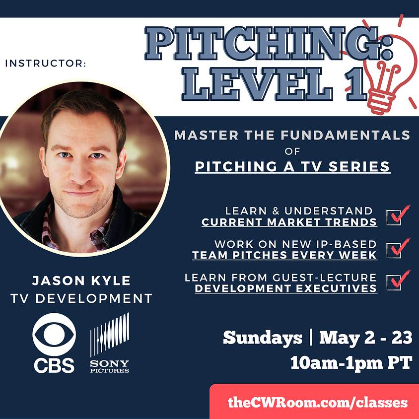PITCHING: LEVEL 1 - May 2021