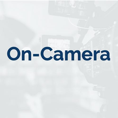On-Camera: Feb. 2 - Mar. 8