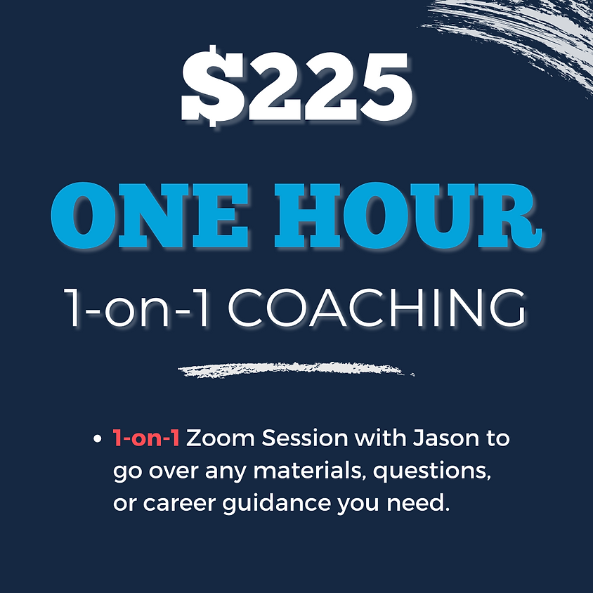 COACHING: ONE HOUR (1 session)