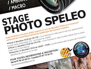 Stage Photo Spéléo - Compte rendu