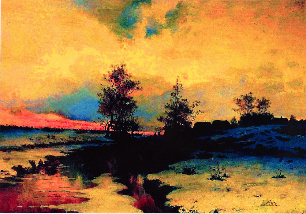 Winternachtfeuer_-_und_es_rücken_die_Farben_aus_der_Welt_hinaus_in_die_blauen_sc