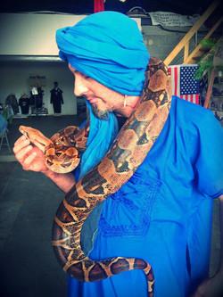 Charmeur de serpent Linja