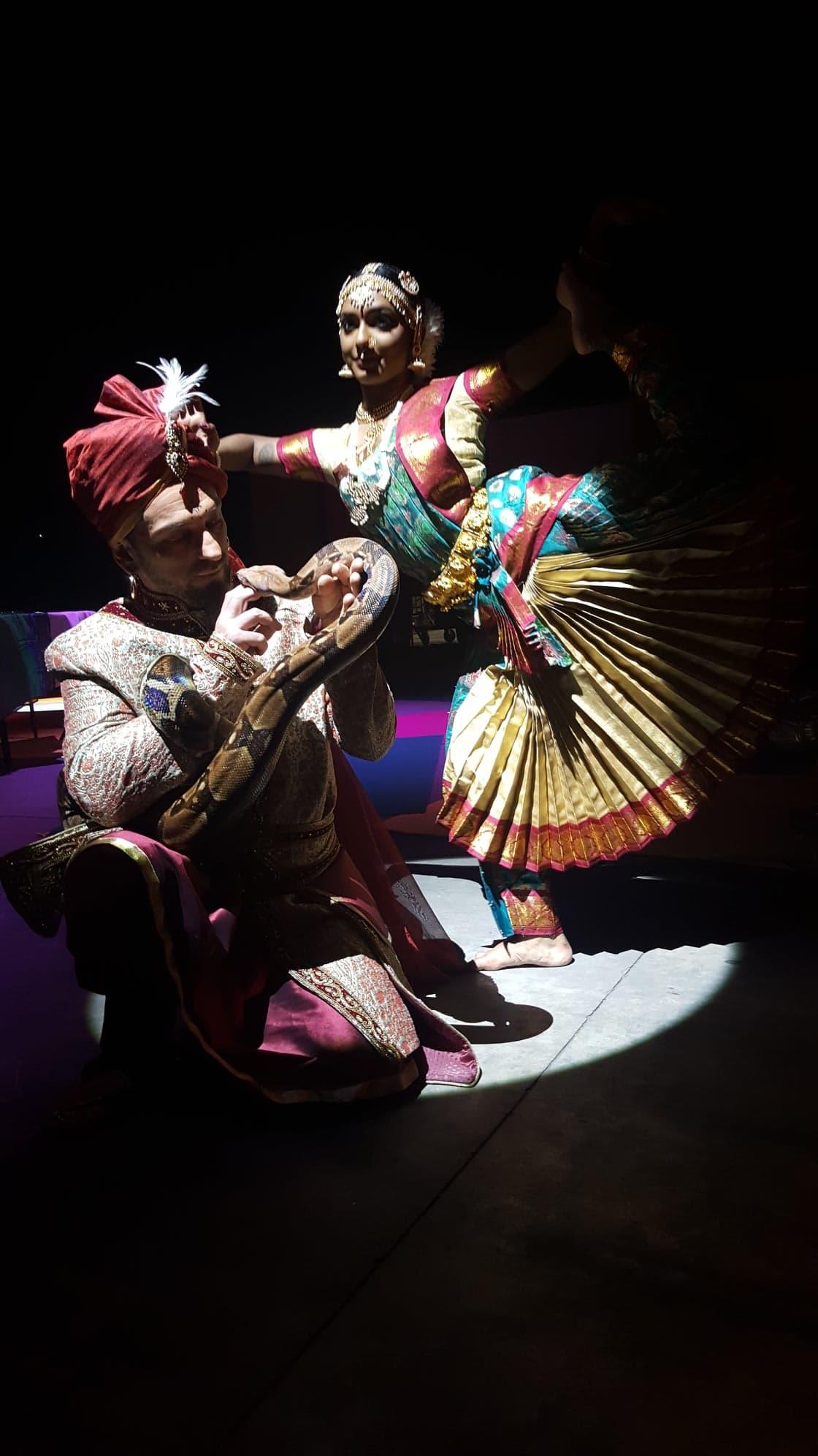 charmeur de serpent Bollywood