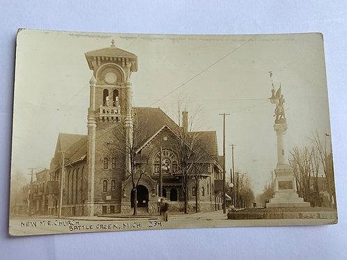 Battle Creek, MI - New M.E Church 1913