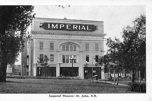 ST JOHN New Brunswick Canada postcard Imperial Theatre theater 1930 era