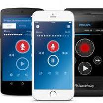 Great Lakes Informatics | Philips Voice Recorder Cell Phone App for iPhone and Android