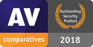 AV Comparatives Outstanding Security Product 2018