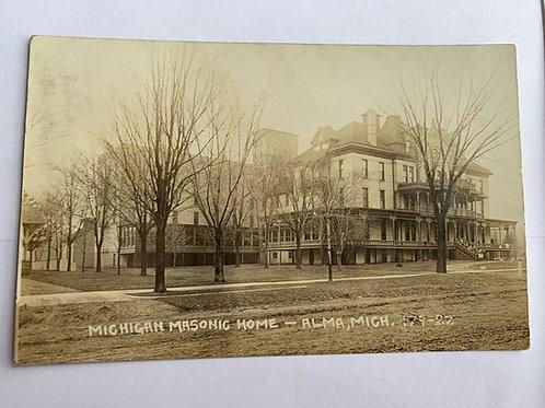 Alma, MI - Masonic Home 1912