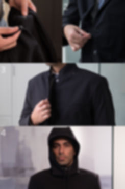 Conversion Clothing Co. | The Conversion Blazer | Go from Blazer to Raincoat in 4 Simple Steps