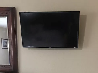 Power Kit installed to clean up TV