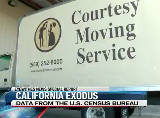 California Exodus: Are some people fed up with the 'Golden State'?