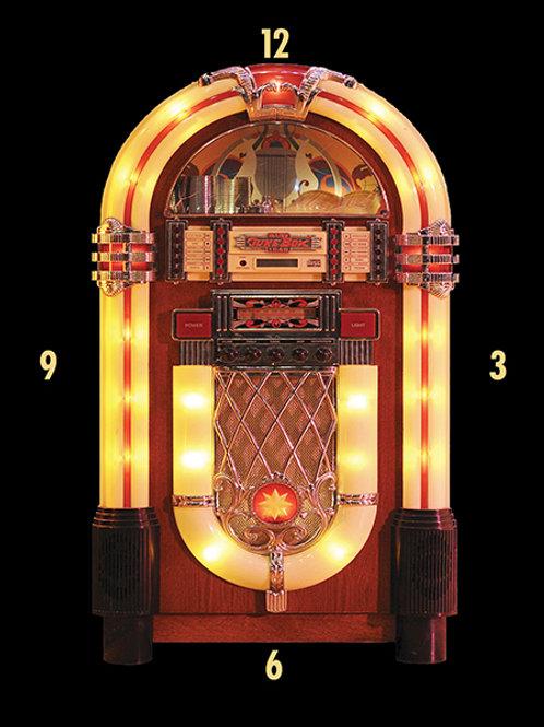 Juke Box Clock