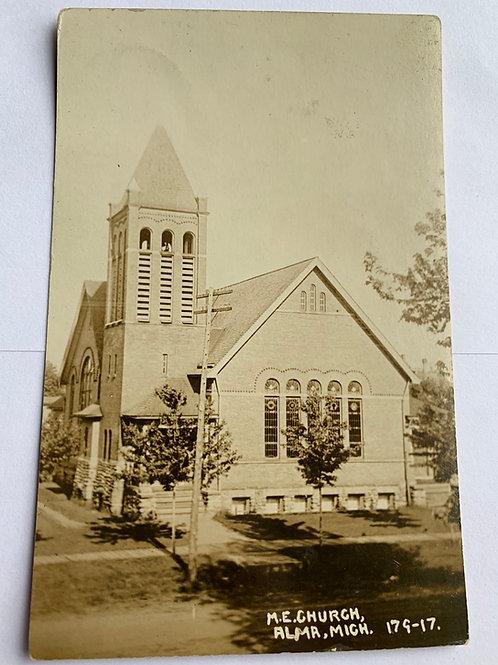 Alma, MI - M.E. Church
