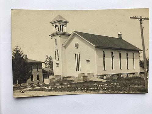 Fulton, MI - M.E Church