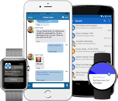 GL Informatics, Inc. | United States | Backline Clinical Secure Mobile Messaging Application for Android, iPhone, Blackberry & Desktop