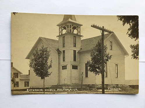 Fulton, MI - Reformed Church - 1911
