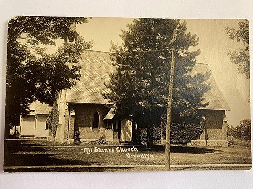 Brooklyn, MI - All Saints Church 1915
