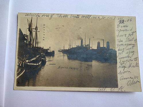 Alpena Harbor, MI - Alpena Harbor 1906