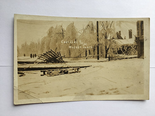 Cadillac, MI - Snow Storm of 1922