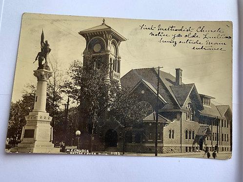Battle Creek, MI - M.E Church 1908