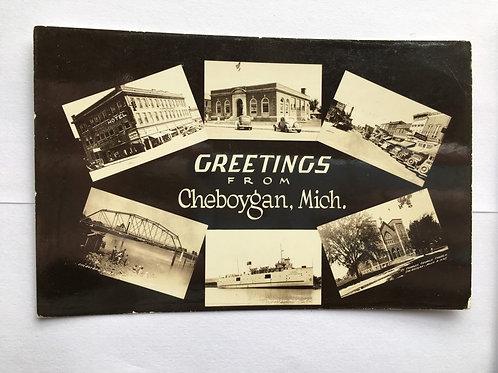 Cheboygan, MI - 6 Views of Town