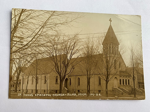 Alma, MI - St. Johns Episcopal Church