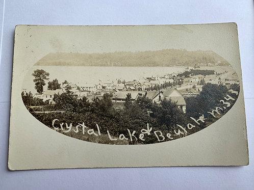 Beulah, MI - Crystal Lake 1912