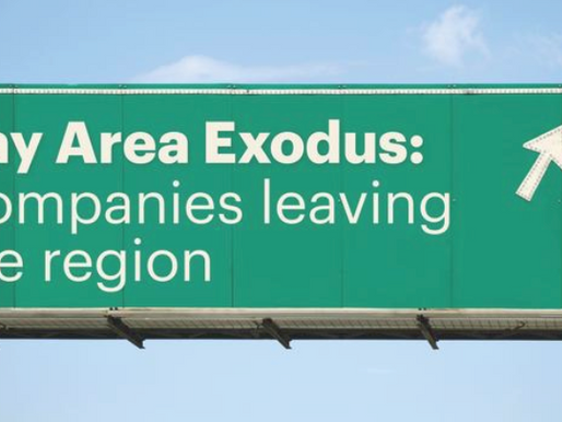 Bay Area exodus: Here are the companies that have moved headquarters or opened offices out of CA