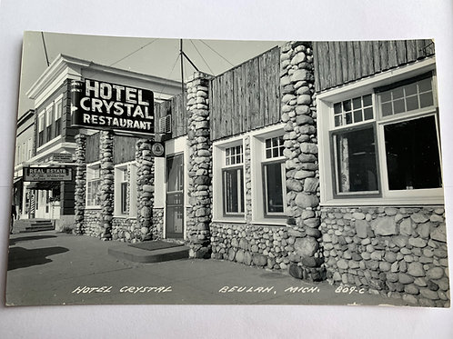 Beulah, MI - Hotel Crystal Restaurant