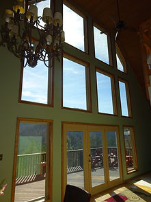 Carolina Home Exteriors | Interior View Of Window Installation in Asheville, NC