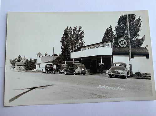 Brethren, MI - Sturdevant Store - Sinclair Gas Station