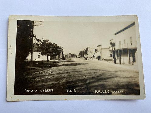 Bailey, MI - Main st