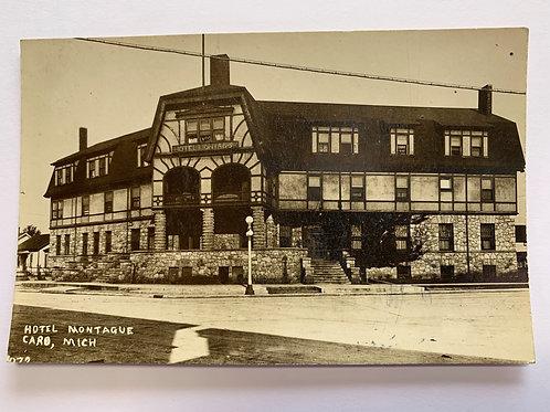 Caro, MI - Hotel Montague 1920