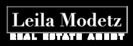 Leila Modetz Real Estate Agent Logo