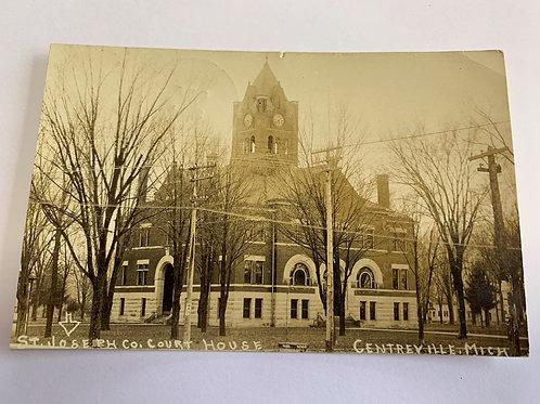 Centerville, MI - Court House - 1908
