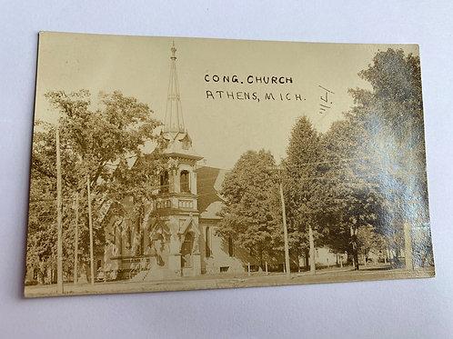 Athens, MI - Congregational 1913
