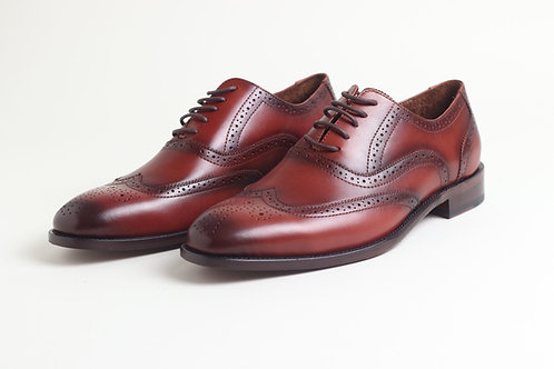 Brown Leather Business Shoes
