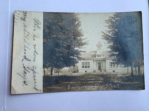 Breckenridge, MI - High School 1913