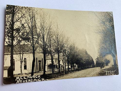 Athens, MI - M.E. Church 1913