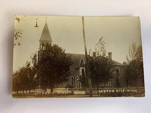 Carson City, MI - Catholic Church - 1911